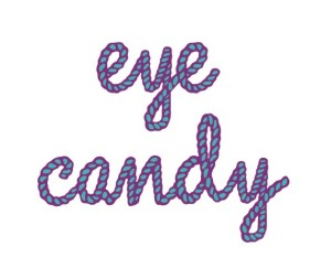 eye candy logo s okrajem